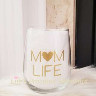 Wine Glasses for Mom