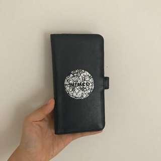 mimco iphone 7+ flip case