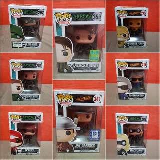 Arrow/Flash TV Series Funko Pops