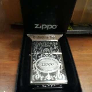 Zippo metalik kalikatur