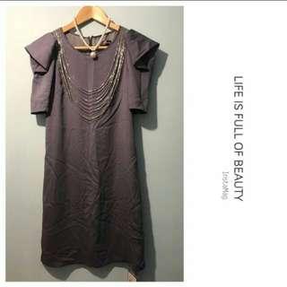 灰色衫裙 (全新)