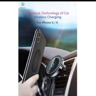 Car Phone Holder And Wireless Charger