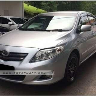 Toyota altis & Hyundai avante