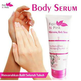 Body serum fair&pink