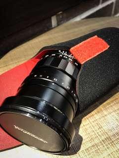 Voigtlander 17.5mm f0.95 Nokton for MFT
