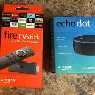 Amazon Bundle: Echo Dot + Fire Stick