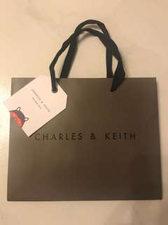 Charles & Keith Paper Bag