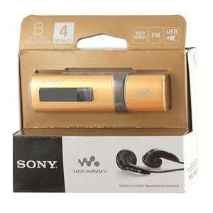 New Sony MP3 Walkman with radio function