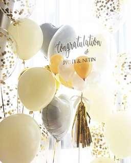 "24"" customized bubble balloons"
