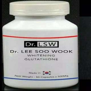 Obat Pemutih Kulit Terbaik DR. LSW LEE SOO WOOK Whitening Glutathione
