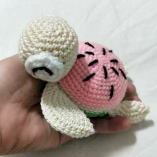 Crochet Melon Turtle