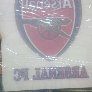 Arsenal car sticker