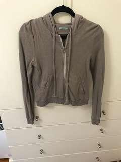 Kookai zip hoodie