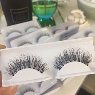 Long lashes 13mm $2