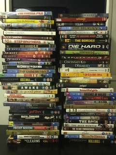 Dvd bundle (50 dvds) - $100