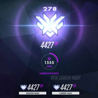 Overwatch Boost (Any rank) and Stream
