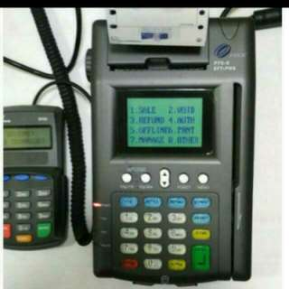 NETS/POS Terminal Card Payments Set.
