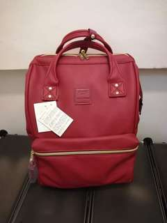 Anello PU Leather Backpack Rucksack Regular Size