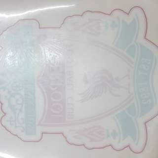 Liverpool car big sticker
