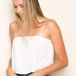 BNWOT Brandy Melville White Cassidy Tube Top