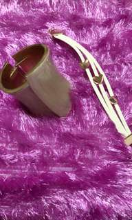 Bundle !!! Cuff Bracelet with Free Pouch