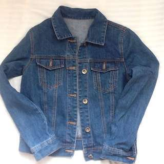 Denim maong jacket free shipping