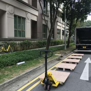 14ft tailgate lorry transportation