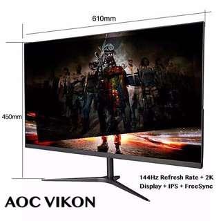 AOCVIKON - 27 Inch 144Hz 2K Gaming Monitor (Low Stock)