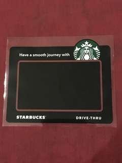 Starbucks Car Sticker Road Tax Holder