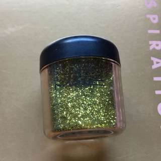 MAC Chartreuse Glitter 7.5g - great for festival makeup