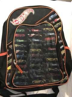 Charity Sale! Hot Wheels backpack School Bag