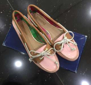 Sperry pink shoes for women