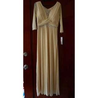 Chiffon Gown (Cream)