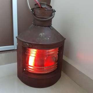 Vintage Ship lamp