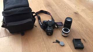 CANON 600D & FISH EYE LENS