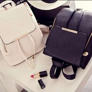 Korean Backpack in Black