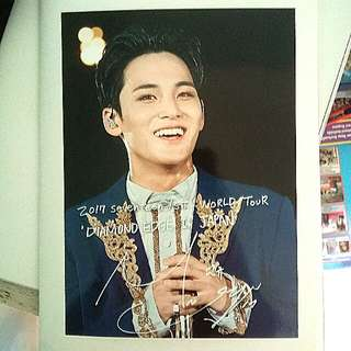(WTS FAST!) MINGYU LAWSON PRINT DIAMOND EDGE IN JAPAN