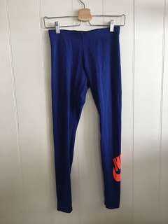 Nike full length tights size S