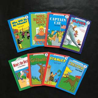 💥NEW-  I Can Read level 1  Syd Hoff Collection Set 2- 8 books set - Children Story books