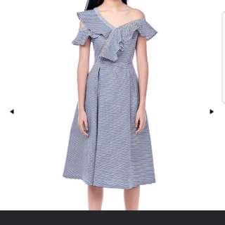 TEM Amalya Toga Ruffle Dress