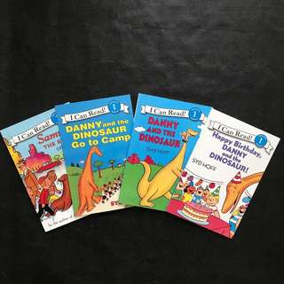 💥NEW-  I Can Read Syd Hoff Collection Set 1- 4 books set - Children Story books