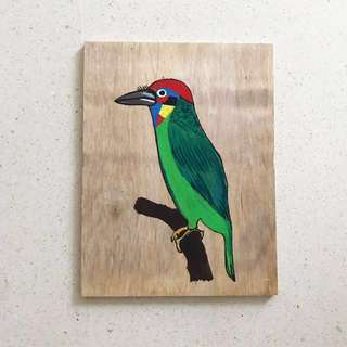 Painting / Bird #7 #birdseries