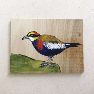 Painting / Bird #6 #birdseries