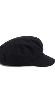 Forever 21 Canvas Cabby Hat in Black