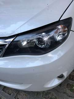 Impreza wrx hatchback headlamp