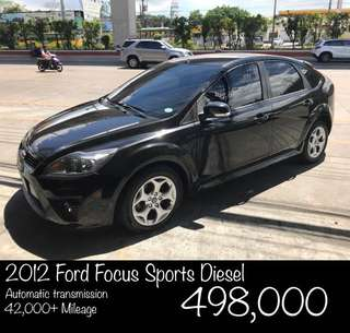 2012 Ford Focus Sports Diesel
