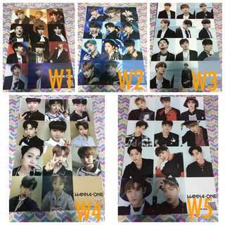 Wanna One A3 size posters
