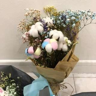 Flower cotton Bouquet