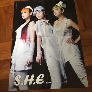 Poster - S.H.E poster