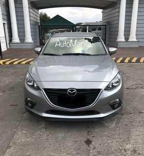 2016 Mazda 3 1.5L skyactiv